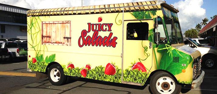 juicy salad truck